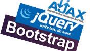 AJAX, jQuery, Bootstrap