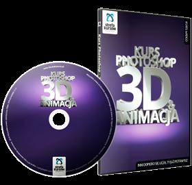 Kurs 3D Photoshop animacja
